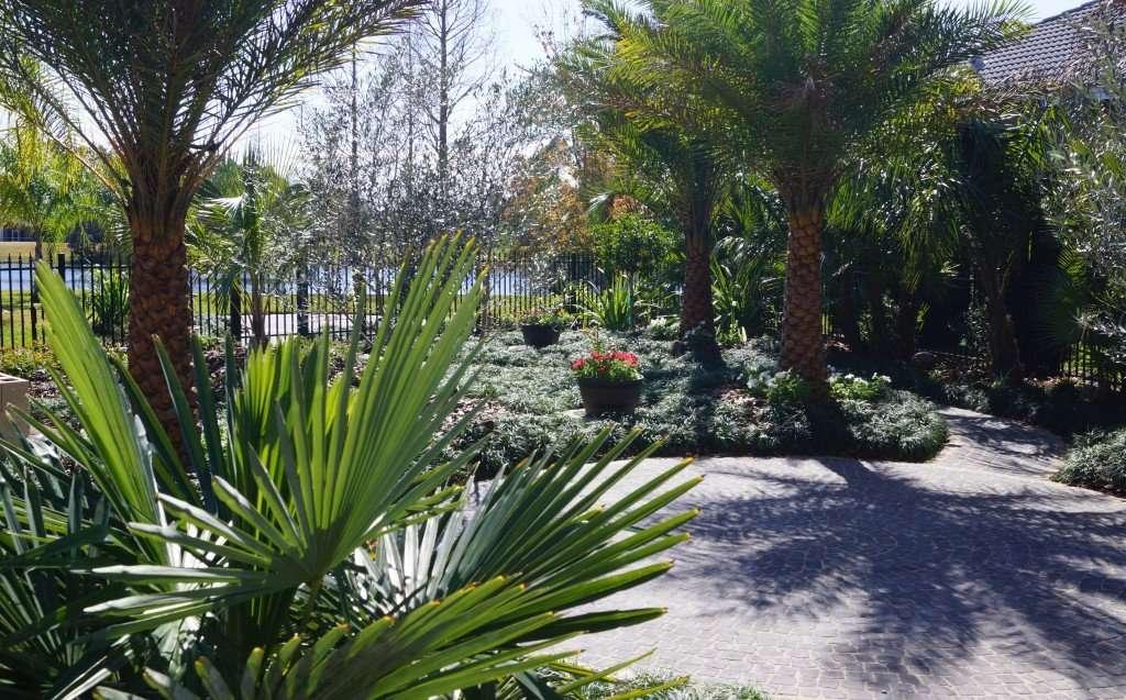 Four Seasons Winter Garden Landscape